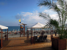 Пляж Radisson Blue Paradise Resort & Spa