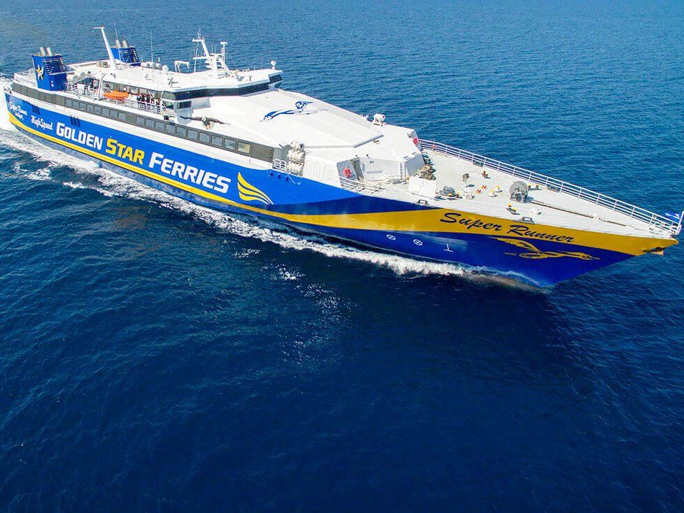 Паром Golden Star Ferries Superrunner